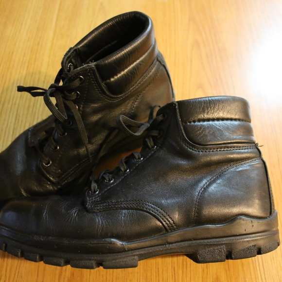 302c7b24298 Bates Durashock Oil Resistant Black Leather Steel